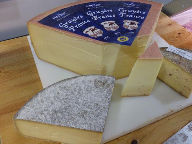 Gruyère IGP Haute-Saône produits locaux Montbozon